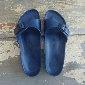 Birkenstock Madrid AVA Blue slides 38 sandals